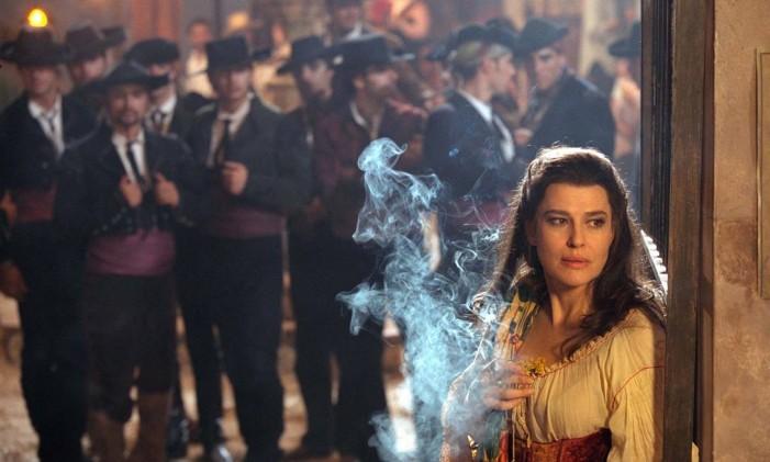 """""""Callas forever"""" Foto: Reprodução / O GLOBO"""
