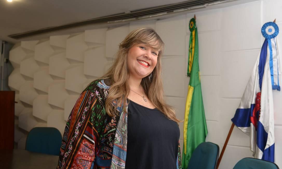 A professora Sonja Helena Voitovitch, que leciona na Escola Municipal Sarmiento, no Engenho Novo, vai estudar na Georgia State University, em Atlanta Foto: Divulgação