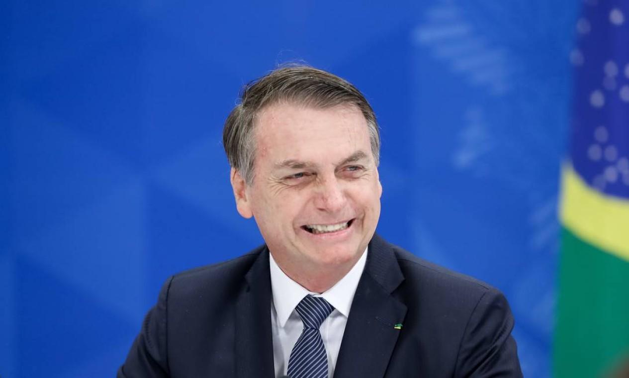 """Bolsonaro disse que Levy """"não vem sendo leal"""" a ele Foto: Marcos Corrêa / PR"""