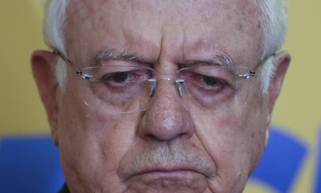 O ex-ministro do STF Carlos Velloso Foto: Michel Filho / Agência O Globo