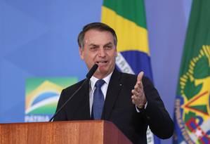 O presidente da República, Jair Bolsonaro Foto: Marcos Corrêa/PR