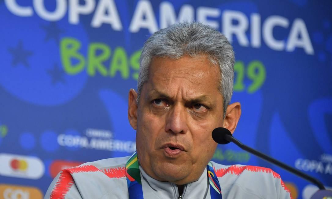 Reinaldo Rueda acredita que uruguaios são favoritos Foto: NELSON ALMEIDA / AFP