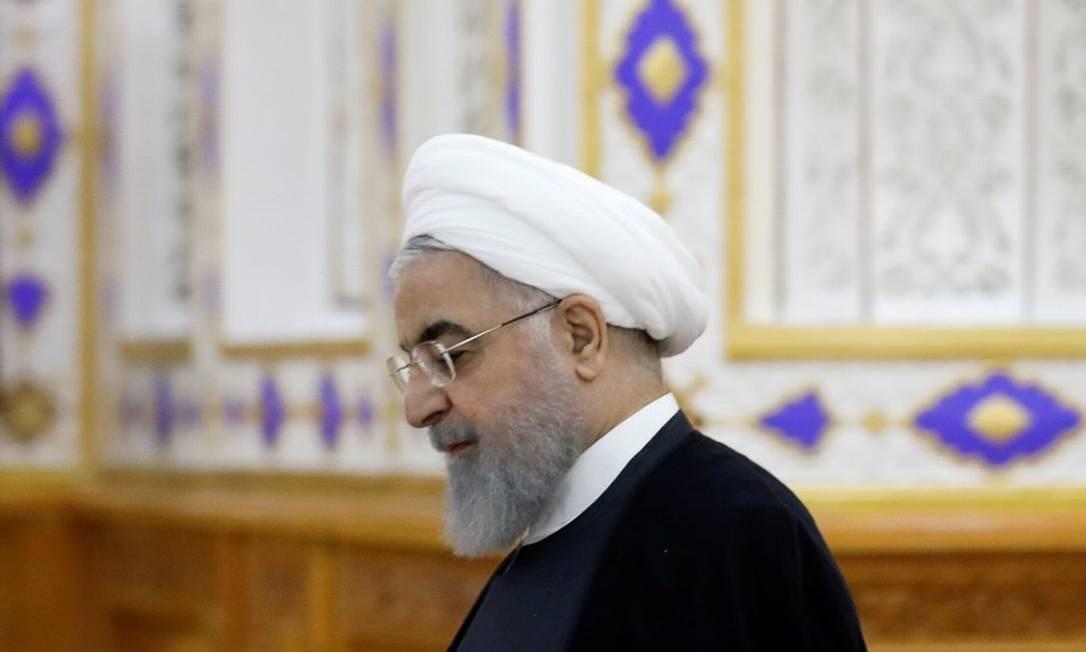 Irã afirma que violará acordo nuclear em 10 dias se Europa não reagir a Trump Foto: MUKHTAR KHOLDORBEKOV / REUTERS/ 15-06-2019