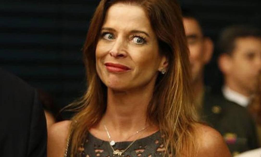 Cláudia Cruz Foto: Marcos Oliveira / Agência O Globo