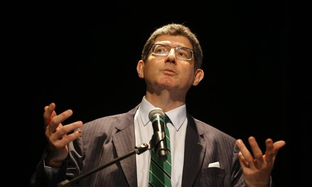 O novo ex-presidiente do BNDES Joaquim Levy Foto: Tânia Rêgo / Agência Brasil
