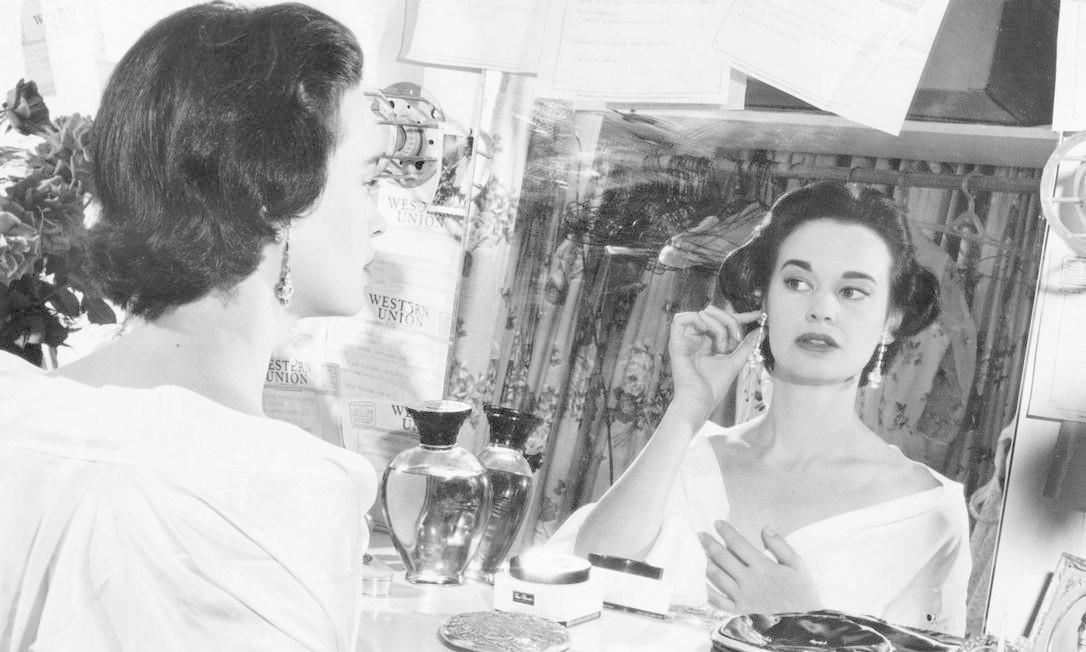 Gloria em 1955: ícone da moda Foto: - / AFP