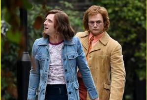 Jamie Bell e Taron Egerton vivem Bernie Taupin e Elton John em