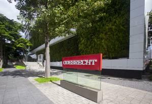 Sede da Odebrecht no bairro do Butantã em São Paulo Foto: Edilson Dantas / Agência O Globo
