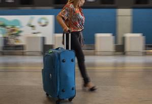 Aeroporto Internacional Tom Jobim (Galeão), no Rio Foto: Gabriel Monteiro / Agência O Globo
