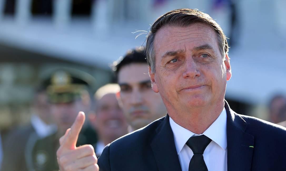 Presidente Jair Bolsonaro não seguiu ordem da lista tríplice Foto: Jorge William / Agência O Globo