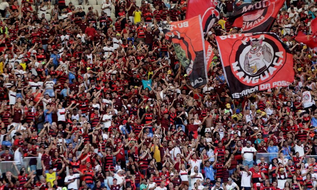 Flamengo, dono do segundo maior faturamento do futebol brasileiro Foto: Marcelo Theobald/Agência O Globo