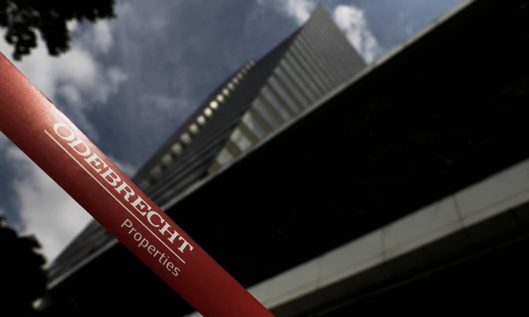 Sede da Odebrecht em São Paulo Foto: Nacho Doce / REUTERS