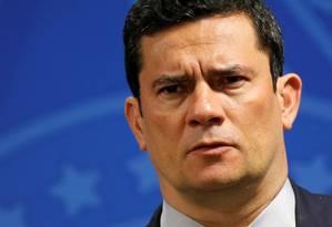 Ministro da Justiça, Sergio Moro Foto: Adriano Machado / Reuters