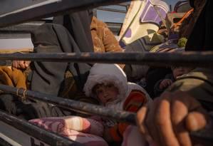 Número de pessoas deslocadas é o maior em quase 70 anos Foto: Yan Boechat / O Globo
