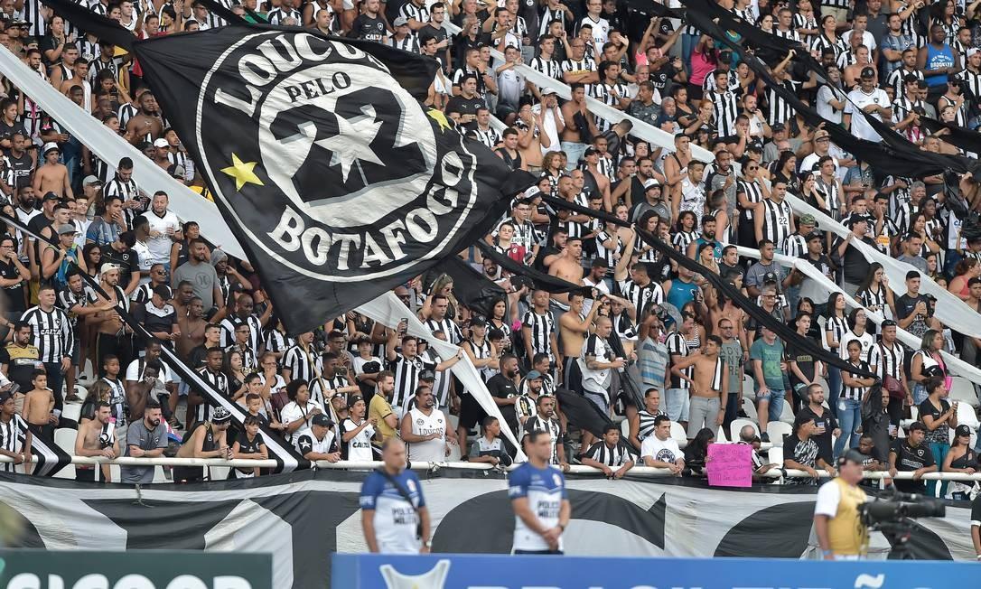 Botafogo lidera o ranking de endividamento no país Foto: Thiago Ribeiro/Botafogo/Divulgação