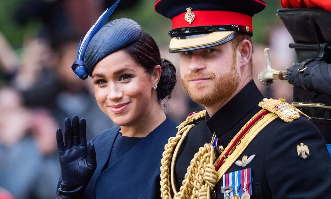 O príncipe Harry e Meghan Markle Foto: Samir Hussein / Samir Hussein/WireImage