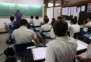Entre os 47,3 milhões de pessoas de 15 a 29 anos, 23% não estudam e nem trabalham Foto: Márcia Foletto / Agência O Globo
