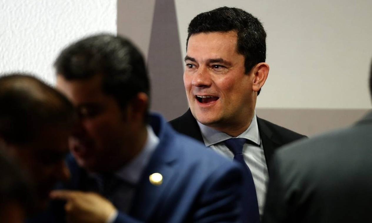 A audiência da CCJ no Senado, que estava prevista para começar às 9h, começou com dezoito minutos de atraso Foto: Jorge William / Agência O Globo
