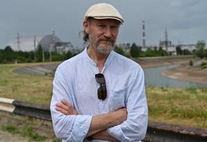 Oleksiy Breus, ex-engenheiro da usina nuclear, criticou a forma como trabalhadores foram retratados na série Foto: GENYA SAVILOV / AFP