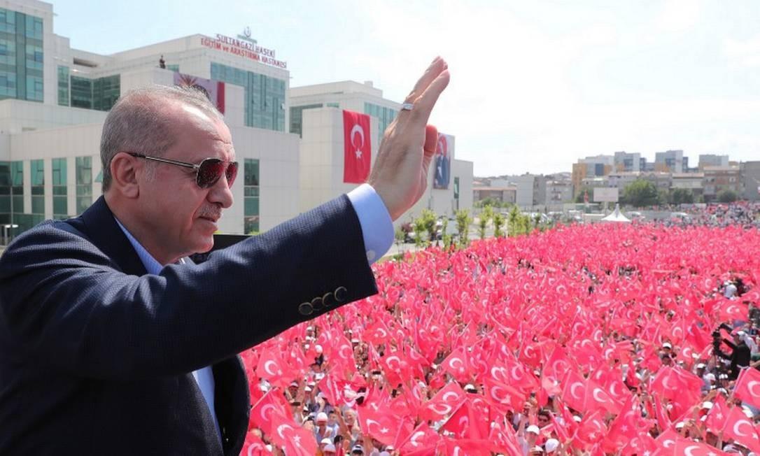 Tayyip Erdogan acusa governo egípcio de assassinar Mursi Foto: HANDOUT / REUTERS