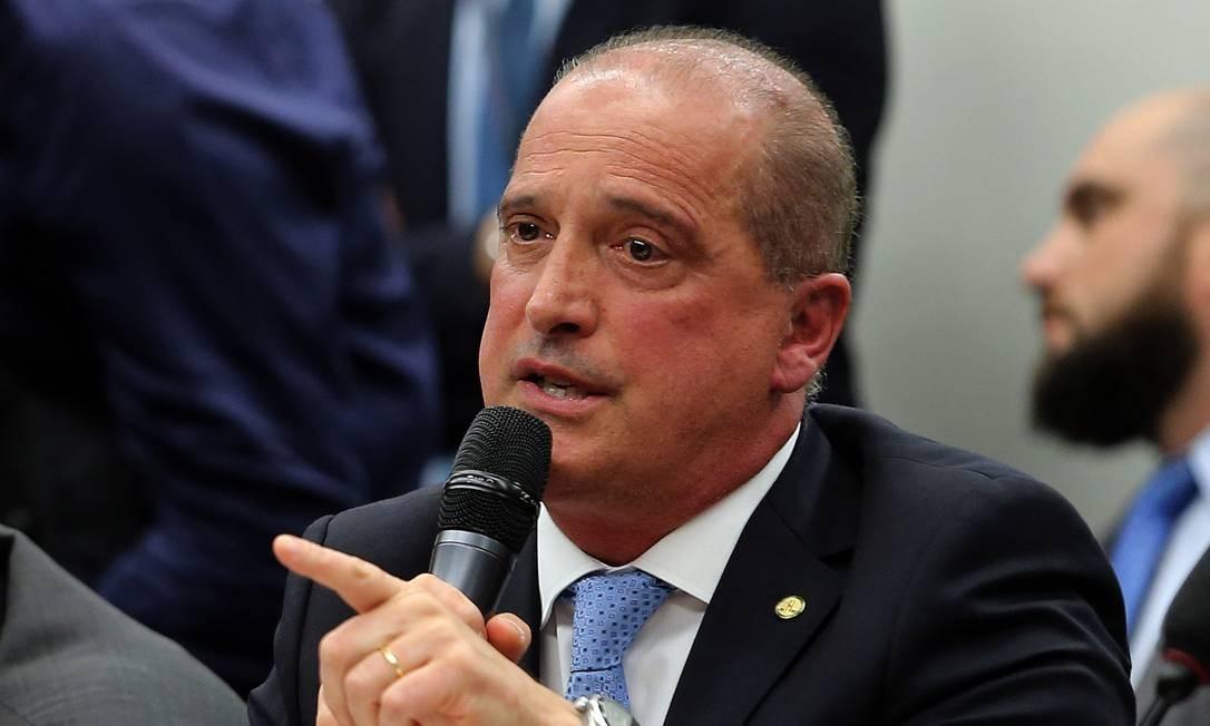 O ministro Onyx Lorenzoni, da Casa Civil, passa a coordenar o Programa de Parcerias e Investimentos (PPI) Foto: Jorge William / Agência O Globo