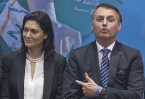 O presidente Jair Bolsonaro participou de cerimônia no Comitê Paralímpico Brasileiro, em São Paulo Foto: Edilson Dantas / Agência O Globo
