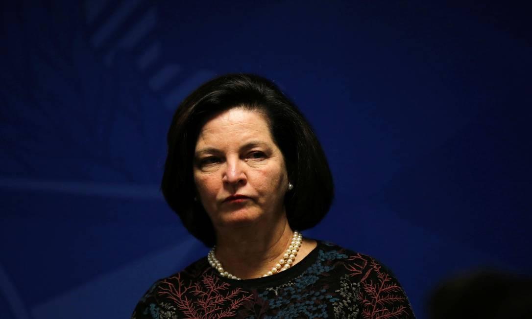 A procuradora-geral da República, Raquel Dodge Foto: Adriano Machado/Reuters