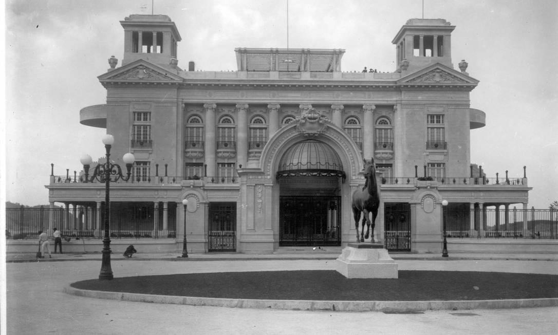 Jockey Club, anos 1920. Foto: Augusto Malta / Acervo Light