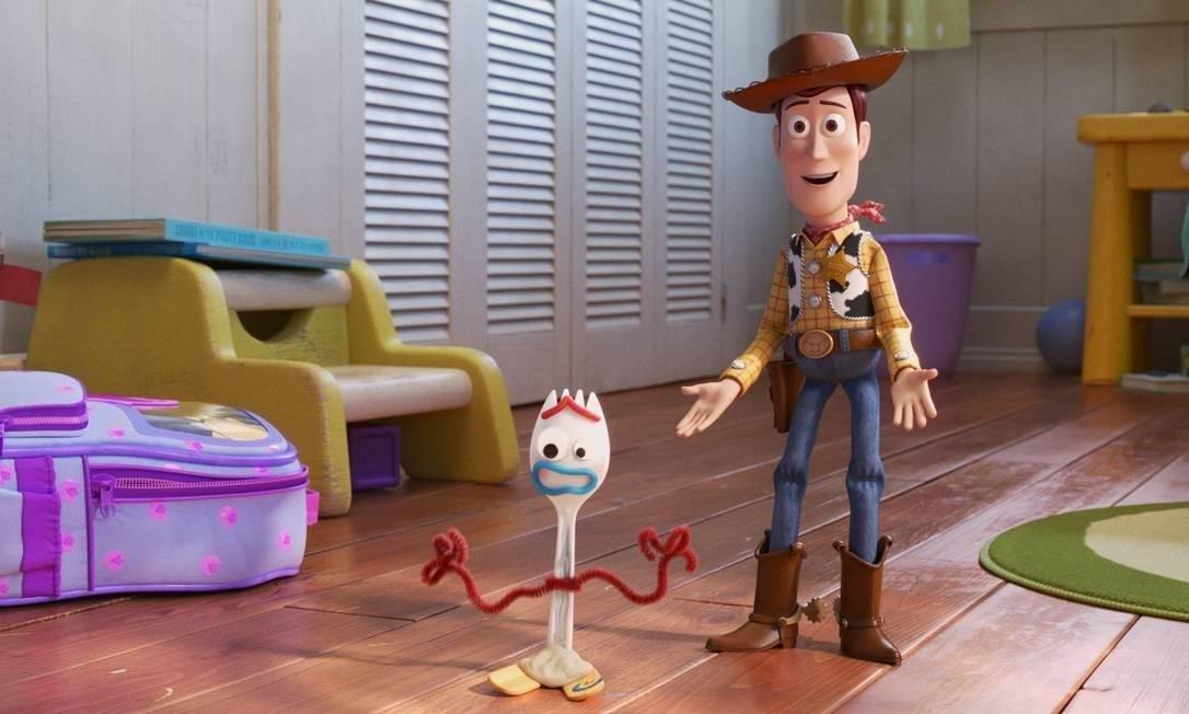 A animação 'Toy Story 4' chega ao cinema Foto: Pixar / Divulgação