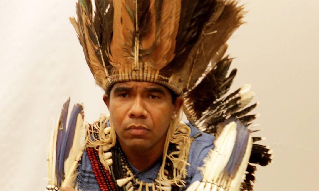 Cacique Babau cobra melhorias no Programa de Proteção aos Defensores de Direitos Humanos Foto: Aílton de Freitas/24-4-2014