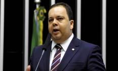 O líder do DEM, deputado Elmar Nascimento (BA) disse que umaeventual flexibilidade na regra de transição dos políticos nãocompensaria o desgaste político Foto: Alex Ferreira/Divulgação