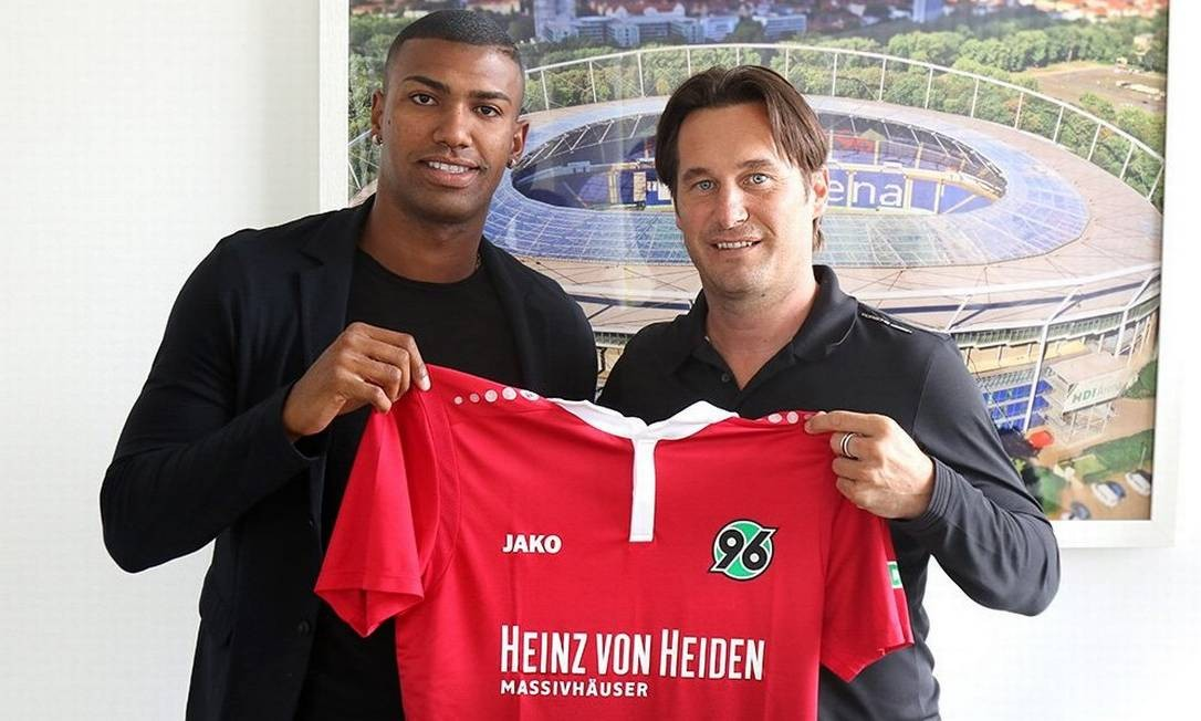 Walace chegou ao Hannover no início da temporada Foto: Divulgação