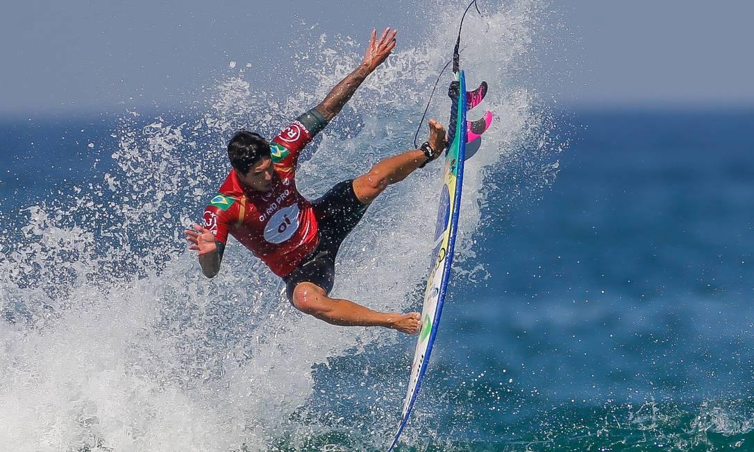 Gabriel Medina compete em Saquarema Foto: Marcelo Régua