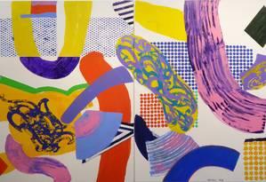 Obra de John Nicholson na exposição