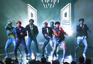 BTS: game do grupo será lançado no Brasil dia 25 de junho Foto: Kevin Winter