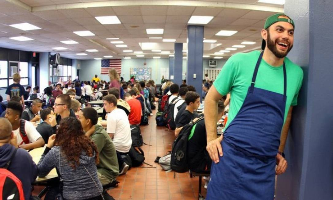 O americano Dan Giusti comanda a Brigaid, que oferece alimentação de qualidade para as escolas públicas americanas Foto: Divulgação