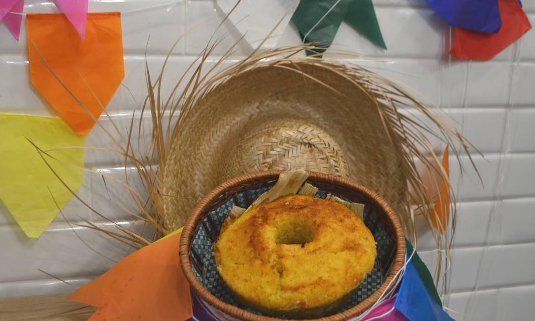 Na Le Pain tem bolo assado de milho: R$ 29 o quilo. Rua Lemos Cunha 333, Icaraí. Telefone: 3843–1005. Foto: Divulgação