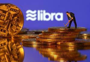 Libra: criptomoeda já é alvo de críticas no mercado financeiro. Foto: DADO RUVIC / REUTERS