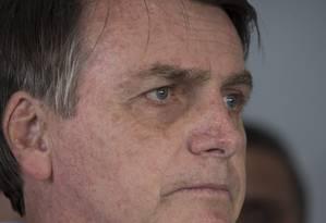Presidente da Republica Jair Bolsonaro. Foto: Edilson Dantas / Agência O Globo