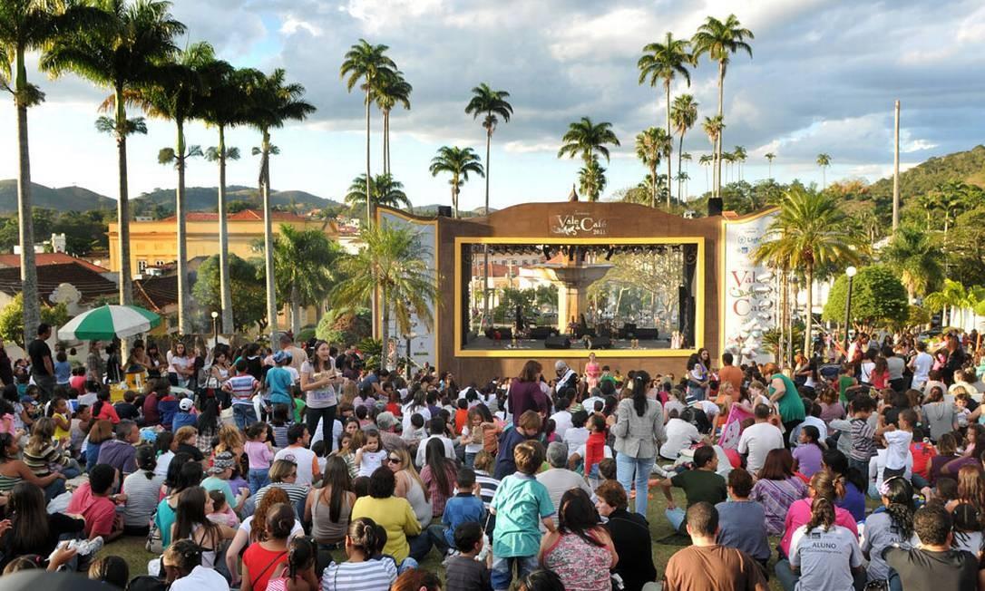Festival do Valé do Café Foto: Divulgação