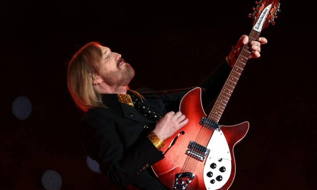 Representantes de Tom Petty estão entre grupo de artistas que processa a Universal Foto: TIMOTHY A. CLARY / AFP