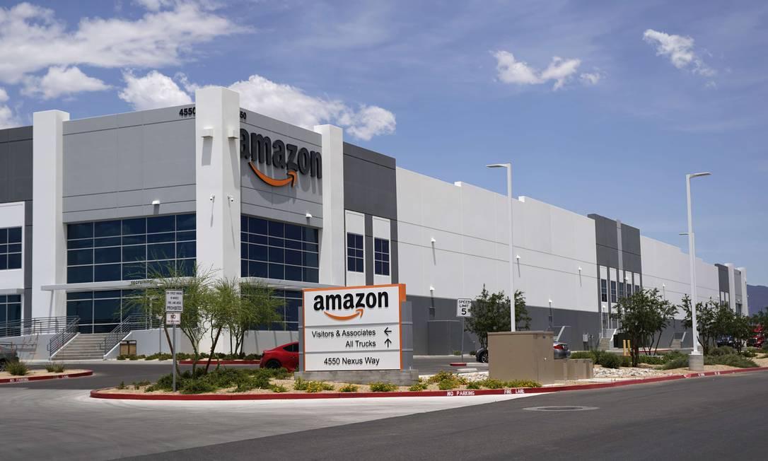 Prédio da Amazon em Las Vegas, Nevada (EUA) Foto: George Frey / AFP