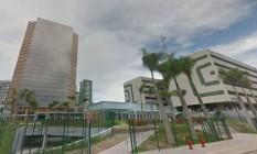 Construção da Torre Pituba, sede da Petrobras em Salvador, é objeto de processo no âmbito da Operação Lava-Jato Foto: Reprodução / Google Street View