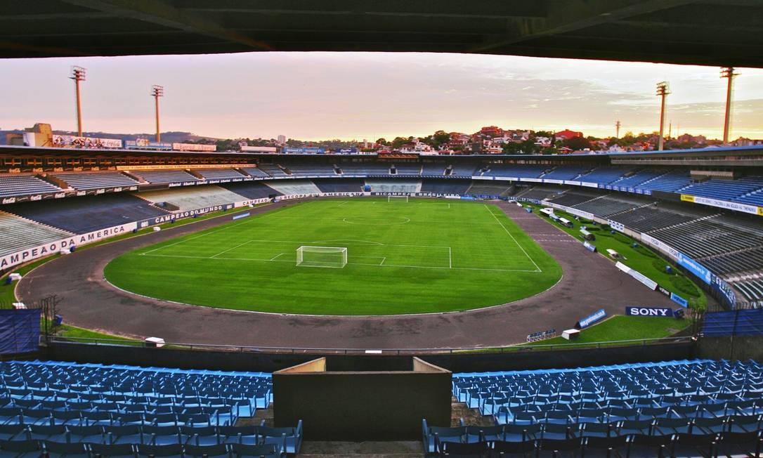 Palco de diversos títulos do Grêmio, Olímpico está desativado Foto: Divulgação / Site oficial do Grêmio