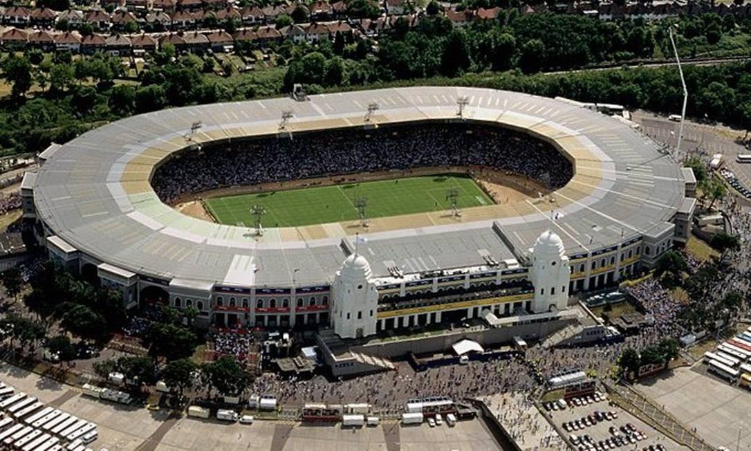 Arquitetura clássica de Wemblwy deu lugar a estádio moderno Foto: Divulgação / The Football Association