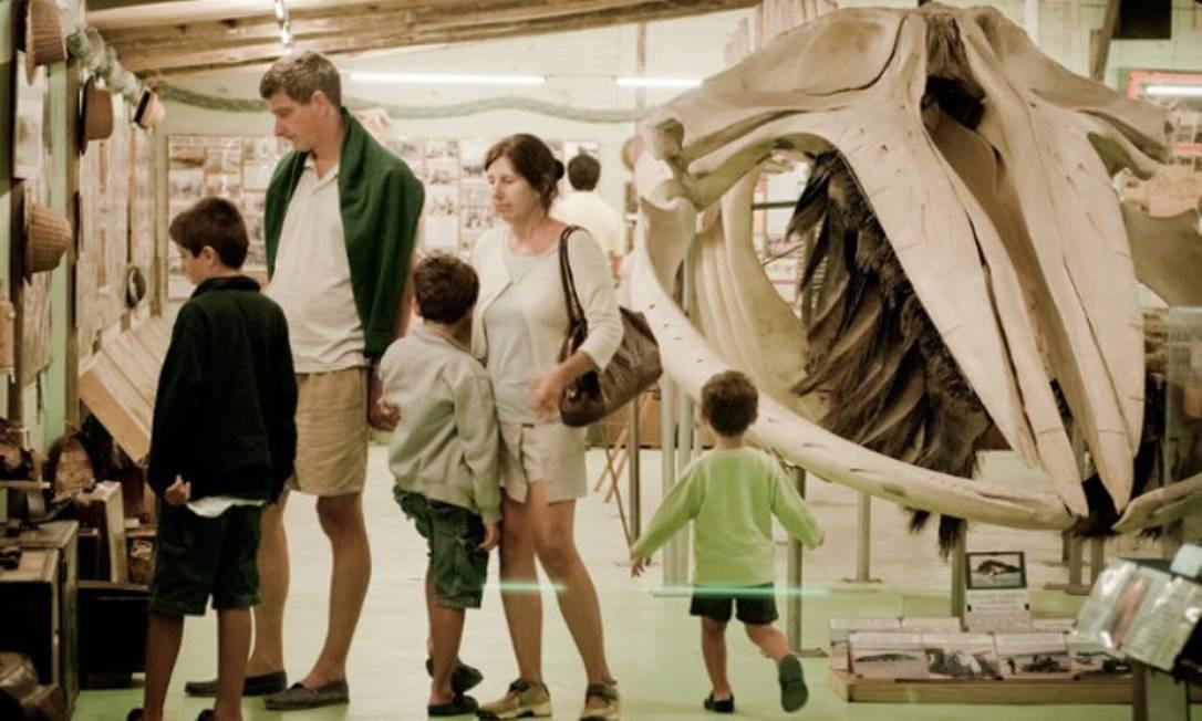 Museu do Mar, em Punta Del Leste Foto: Reprodução
