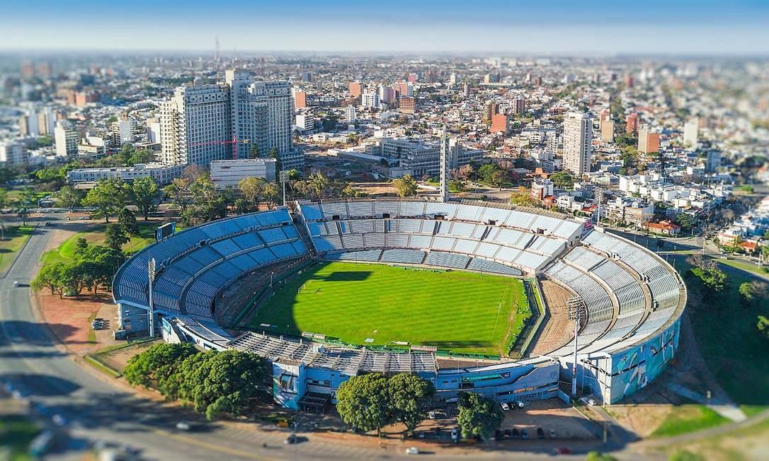 Estádio Centenário, em Montevidéu Foto: Creative Commons