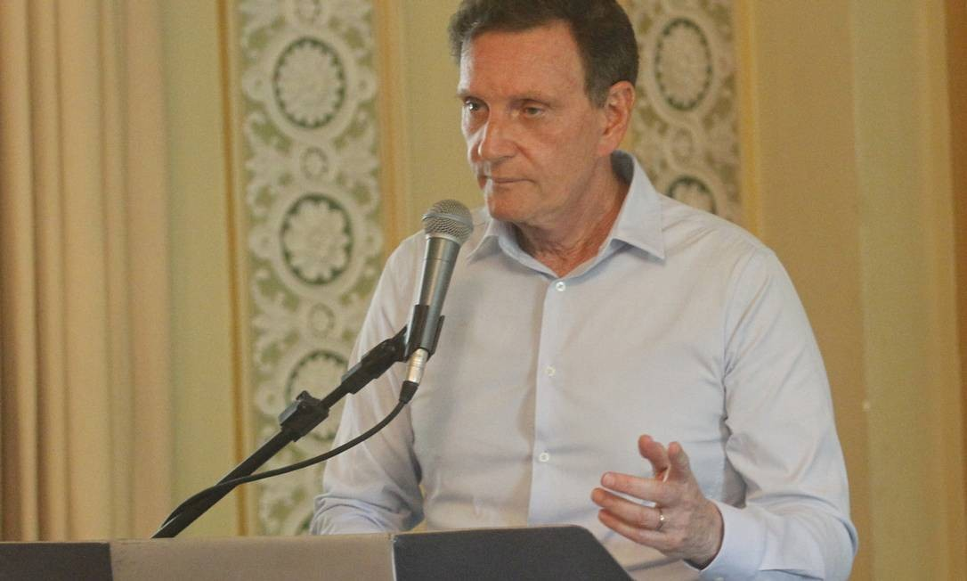 Procurado pelo GLOBO, o prefeito preferiu não se manifestar sobre qualquer detalhe do processo de votação Foto: Paulo Sergio / Divulgação / Prefeitura do Rio