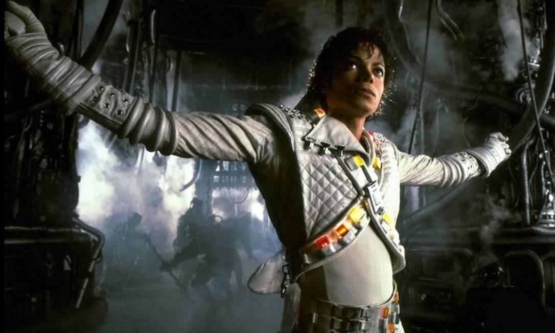Michael Jackson em cena do curta 'Captain EO' Foto: Reprodução