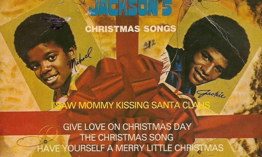 Capa do disco Jackson 5, início da carreira de Michael Jackson Foto: Reprodução